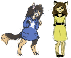 cat people by catfinches
