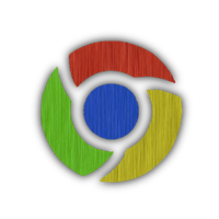 Google Chrome Brushed iCon by dAKirby309