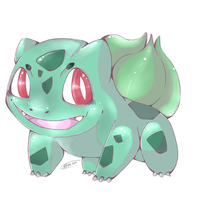 Bulbasaur by nezup