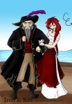 .Avatar Pirates. Iroh + Kes by cursedgnomes