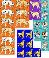SALE Adoptable dogs CLOSED by Wolfs-Hybrid