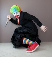 Evil Clown 13 by kirilee