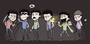 dont starve matsus by classydove