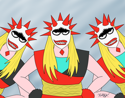 Countdown Pic 5 - The Triplets by Katzy