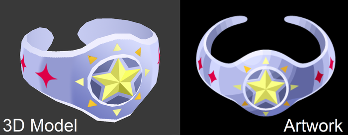 [Model Preview] Light Drawing Bangle (From KHUx) by makaihana975