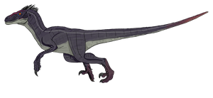 JP Male Velociraptor Concept by beastisign