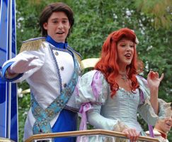 Prince Eric and Princess Ariel by CaitrinXlXAnneliese