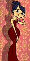 The Red Dress - Total Drama Emma by EvaHeartsYou