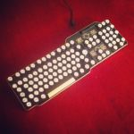 Steampunk Keyboard 4 by HannaLTD