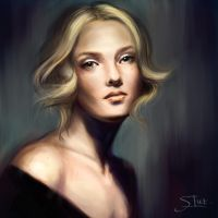 Digital painting study by XThrill