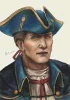 Haytham portrait by jying072