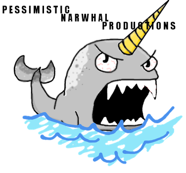 Pessimistic Narwhal Productions Logo (New) by MTMissyCat