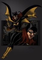 Bat Girl by by ZEROresolution