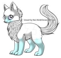 New Brushes Wolf Adopt (Closed) by Star-Wolfie