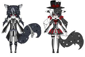 Monster Victorian Kemonomimi adoptable  CLOSED by AS-Adoptables