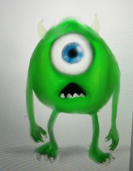 Mike Wazowski by Doodl3Bug21