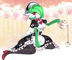 Gardevoir Maid by Jiayi