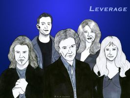LEVERAGE TEAM by Loralthea