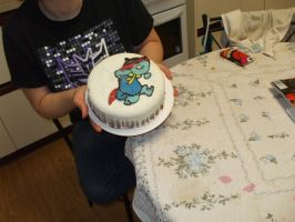 All Hail the Power of the Fraggle Cake! by Delta-Shout