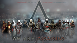 Assassin's Creed: Assassins Wallpaper by TrinityNexus384