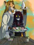 Sushi for Lila!! by DanoGambler