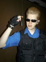 Wesker and His T-Virus by BlueEyesMaster