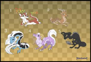 [Closed] Adoptables: Dragons 2 by Almairis