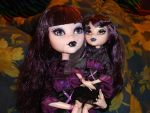 Frightfully Tall Ghouls: Elissabat 4 by VenusCollectionNook