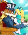 .:Hatter and Alice:. by PhantomCarnival