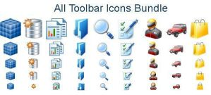 All Toolbar Icons by Iconoman