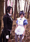 Ciel in Wonderland XVIII: Butler and his lord by Minami19