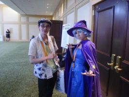 AWA '13: The Great and Powerful ZUN by NaturesRose