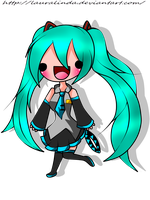 .:Miku Hatsune:.-Color- by lauralinda