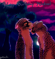 Cheetahs for Michael by YooMe