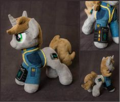 Plushie Littlepip 12 inches by Valmiiki