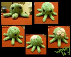 Crochet Octopus by Merlend