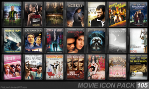 Movie Icon Pack 105 by FirstLine1