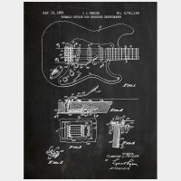 Fender - Black by InkedAndScreened
