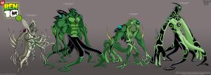 BEN 10: DNA Lab Hybrids 9..... by tnperkins