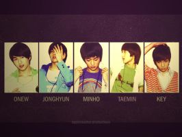 SHINee by abstruseAMITY