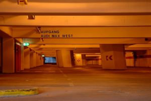 Ruhr University parking level by Mintberry-Crunch