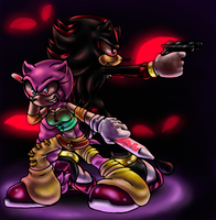 :CE: Fighting together by Flyka-8D