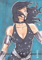 Donna Troy sketch card by kohse