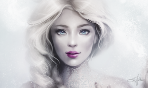 Frozen Snow Queen by Sandramalie