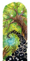 Bookmark Totoro 01 by Goldman-Karee