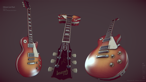 Gibson Les Paul Cherry Sunburst by GrimmWrecking