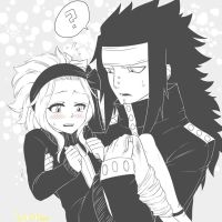 Winter-like Gajeel x Levy by PastrieCake