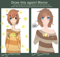Draw this again Meme by Togamicchi