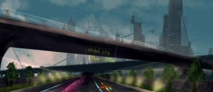 Olidol, My city by olidol