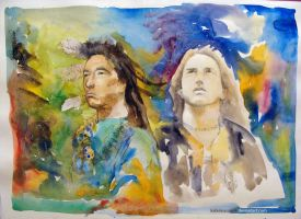 dances with wolves by KaterinaSonne